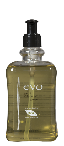 Savon d'olive liquide