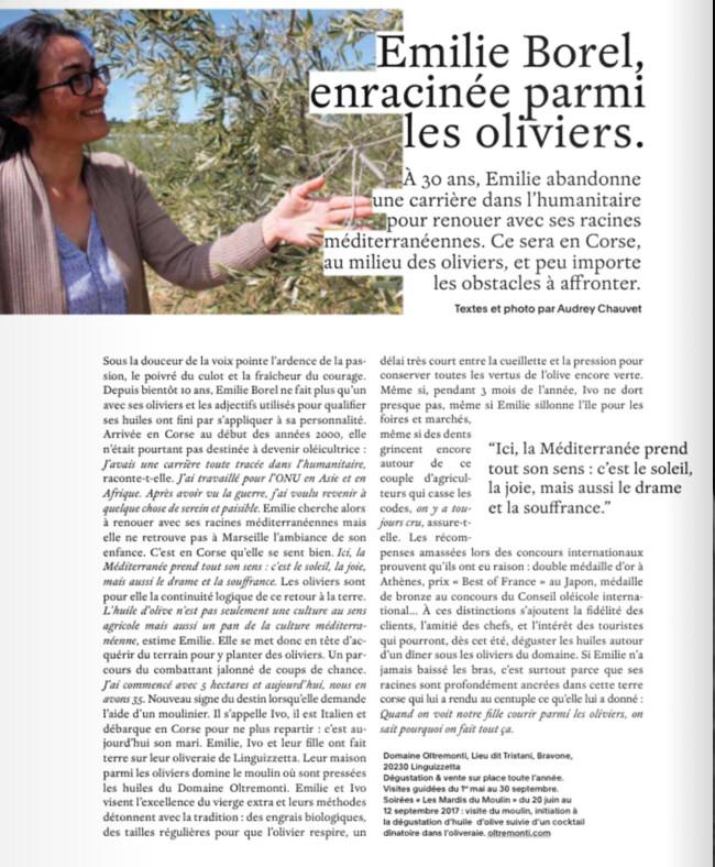 Marie Claire Provence - juillet 2017